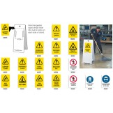 Tall Floor Stand Signs