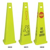 Trivu 3 Sided Safety Cones