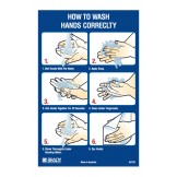 Instructional Hand Wash Poster