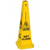 Standard Stafety Cone - Wet Floor