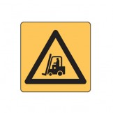 Warning Forklifts Symbol