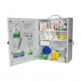 National Workplace First Aid Kit Metal Wall Mountable Large
