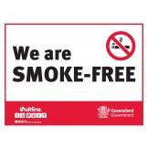 QLD WE ARE SMOKE FREE