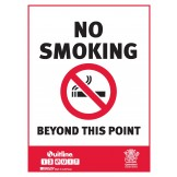 QLD STATE NO SMOKING BEYOND THIS POINT
