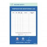 Temperature Monitoring Log, 450 x 300mm
