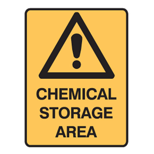 Dangerous Goods Signs Warning Sign Chemical Storage Area