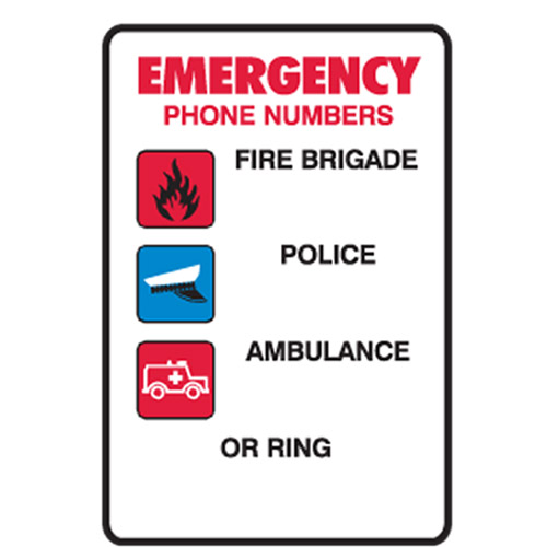 Emergency Phone Numbers Fire Brigade Police Ambulance Or Ring