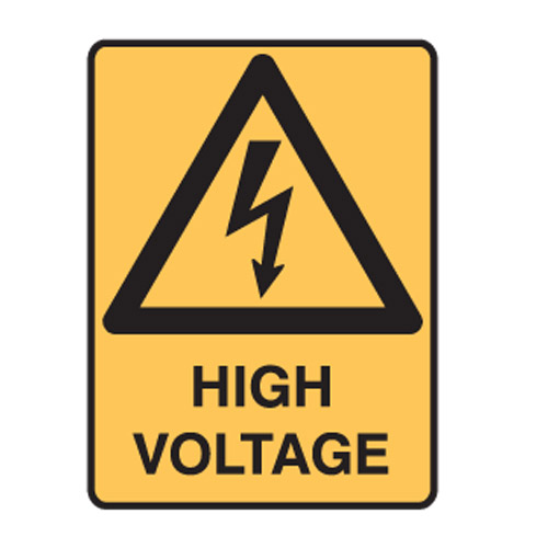 voltage - warning signs