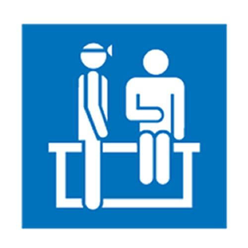 Hospital Nursing Home Signs Outpatients Symbol