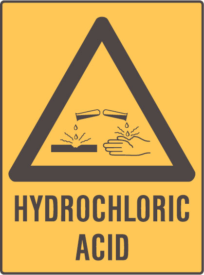 hydrochloric acid Hydrochloric acid is a strong corrosive acid that is commonly used as a laboratory reagent it is formed by dissolving hydrogen chloride in water.