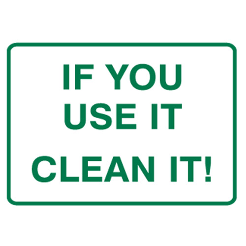 clean dishes sign - photo #6
