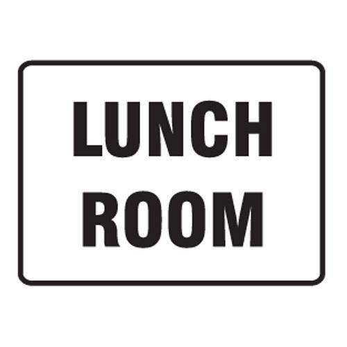 Construction Site Break Room : Lunch room