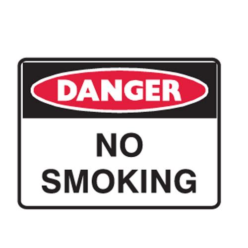 No Smoking - Danger Signs