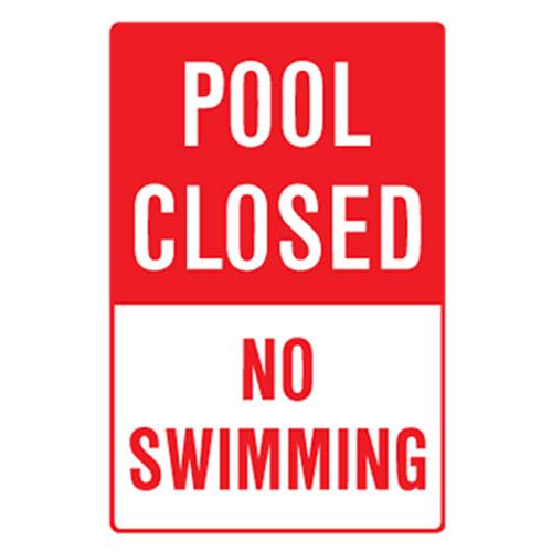 Pool Closed No Swimming