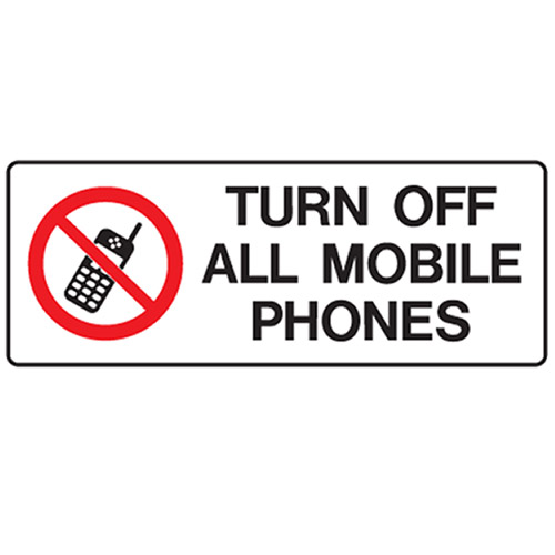 Turn Off Cell Phones The Image Kid Has It