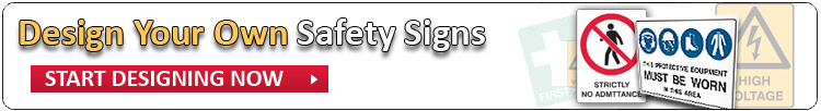 Design a custom safety sign