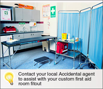 First Aid Room Fitouts