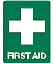 Fist Aid Sign