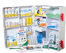 First Aid Cabinet for workplace